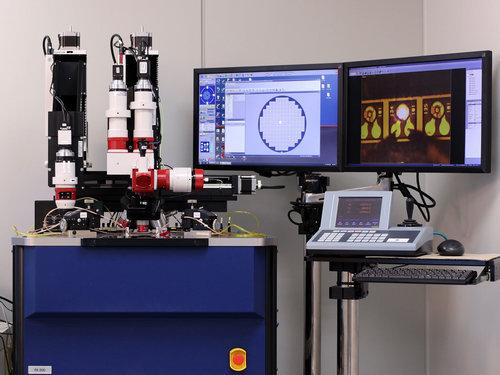ウエハレベル発光素子光学特性測定解析装置