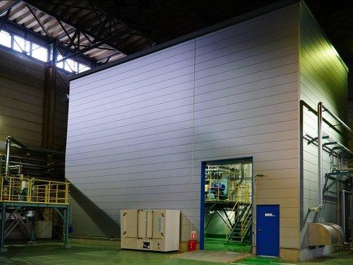 CNF強化樹脂実証機(静岡県富士市)