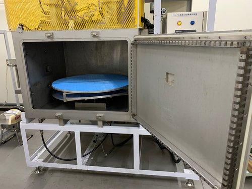 乾燥装置:マイクロ波減圧乾燥機1段型