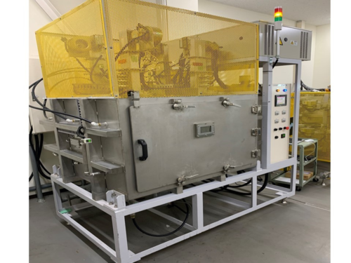 殺菌乾燥装置:マイクロ波殺菌乾燥機