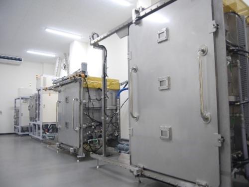 乾燥装置:乾燥実験室