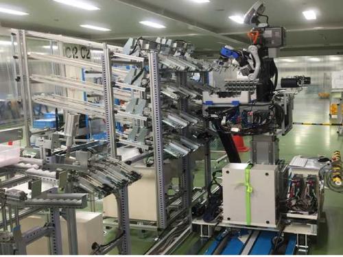 人型協働ロボットによるピッキングシステム