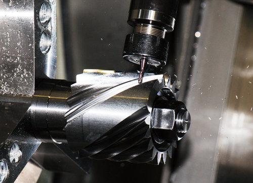 エンドミルによる歯車直接加工サービス