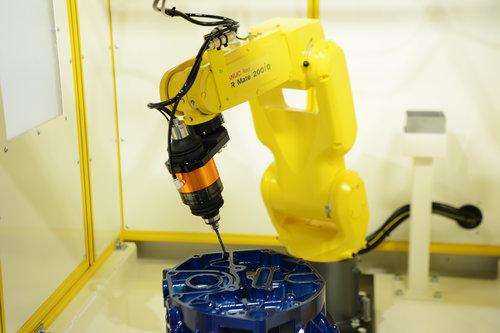 バリ取りロボットシステム
