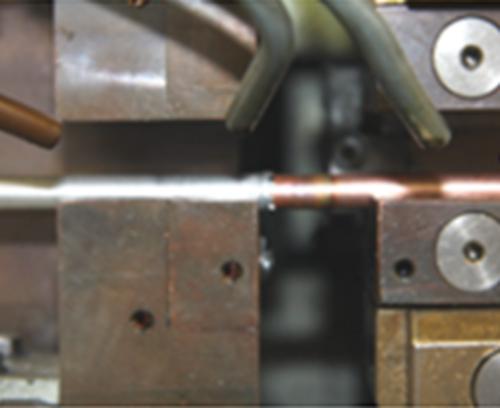 銅とアルミの共晶結合例