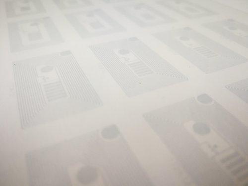 透明導電性インキの微細パターン印刷