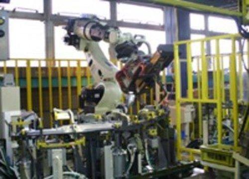 溶接ロボット設備
