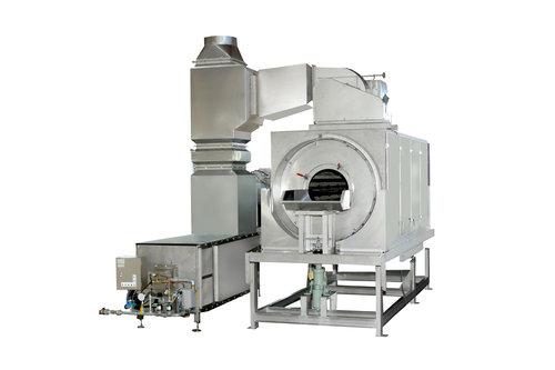 回転通気式乾燥機